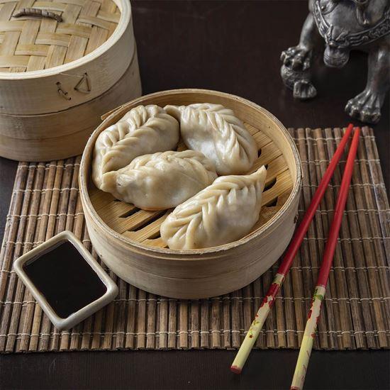 Imagen de Dumplings vegetariano al Vapor (4 piezas)