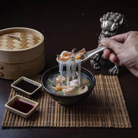 Imagen de Sopa de Fideo de Soya con Camarón