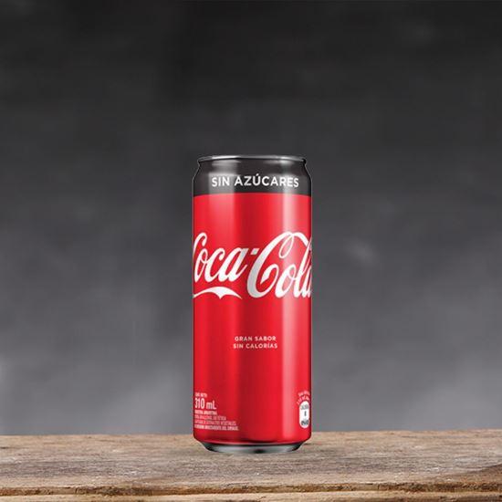 Imagen de Coca Cola Zero lata