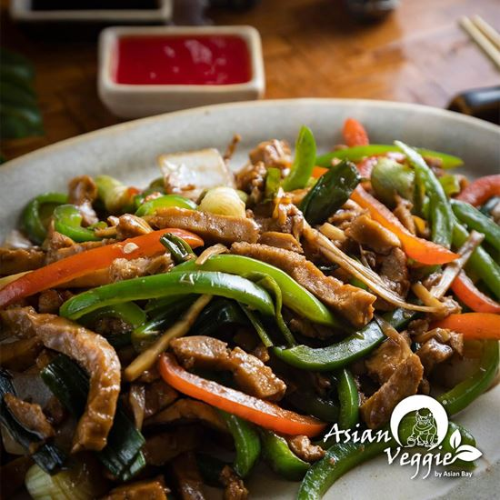Imagen de Carne Vegetariana Estilo Hunan
