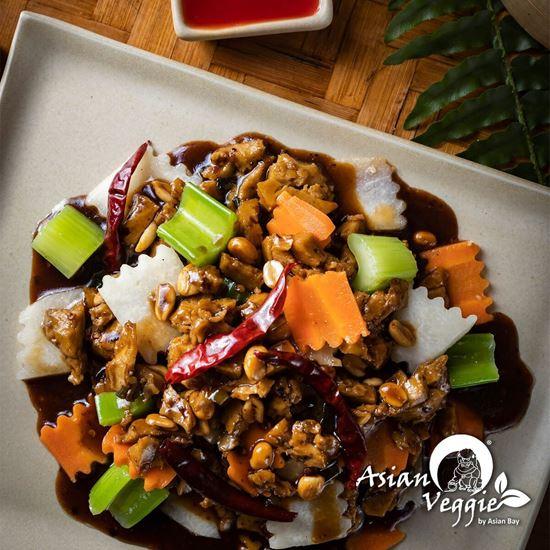 Imagen de Carne Vegetariana Kung Pao